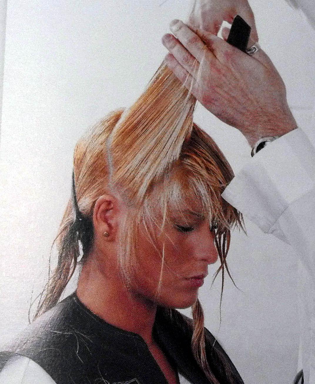 Corte de cabello en capas como hacerlo