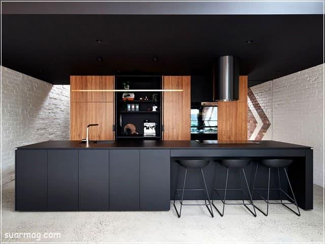 احدث واجمل صور مطبخ خشب ستراها فى حياتك | مجلة صور