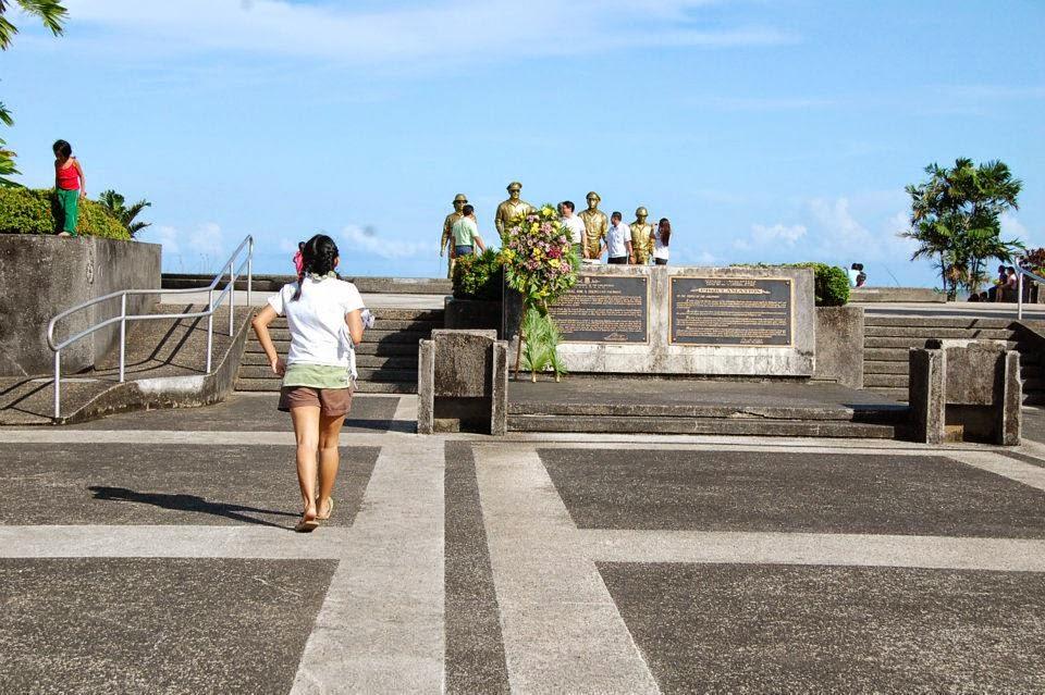 MacArthur Landing Memorial Park in Leyte