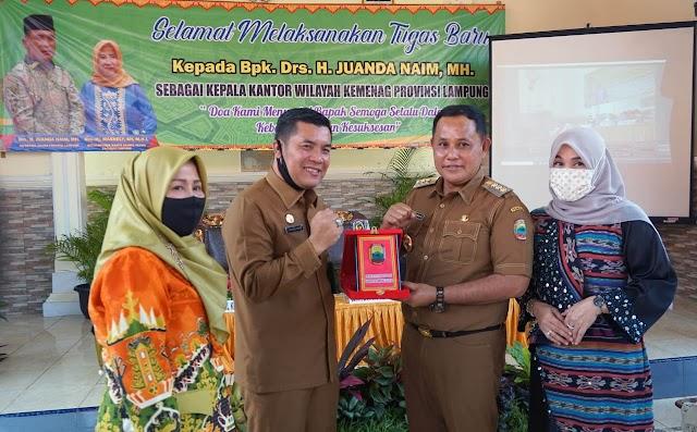 Nanang Ermanto Hadiri Pengantar Tugas Kepala Kantor Kemenag Lampung Selatan