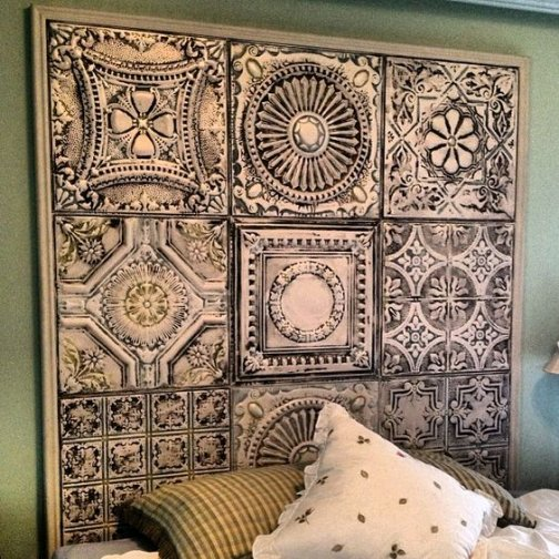 Dishfunctional Designs Embossed Tin Ceiling Tiles