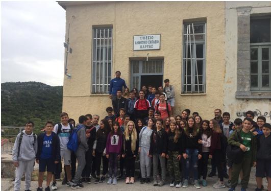 Επίσκεψη του Νέου Σχολείου στην Καρυά Αργολίδας