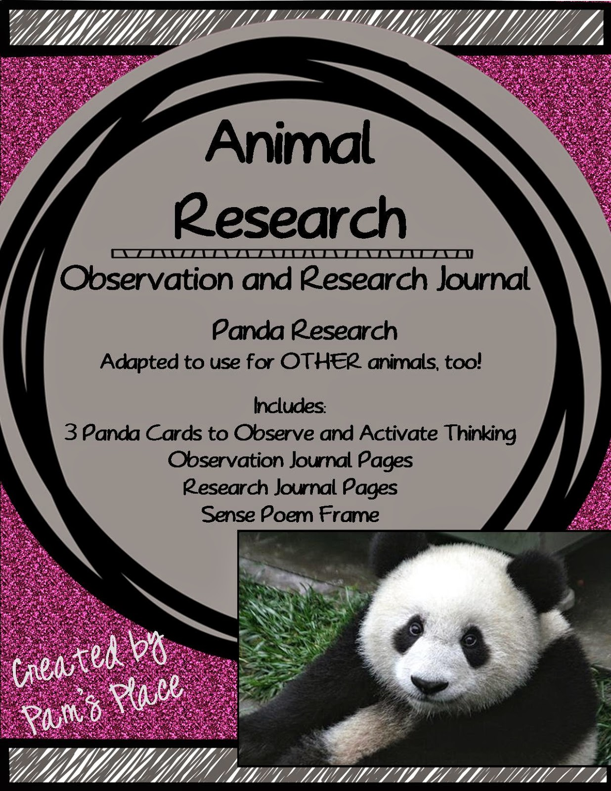 http://www.teacherspayteachers.com/Product/Animal-Research-Observation-and-Research-Journal-PandaAnimal-236913