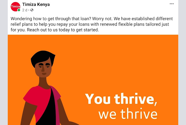 Timiza app Kenya