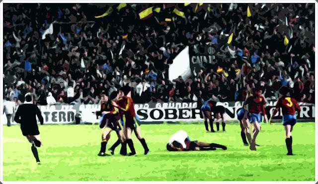 Spain Malta Euro 1983