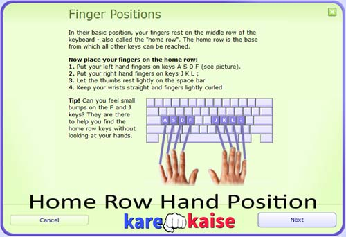 typing-speed-badhane-ke-liye-finger-position