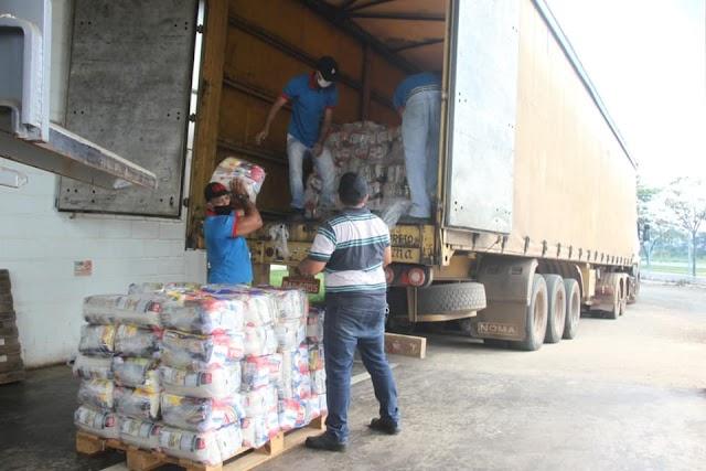 Senador Canedo: Assistência social intensifica entrega de cestas básicas