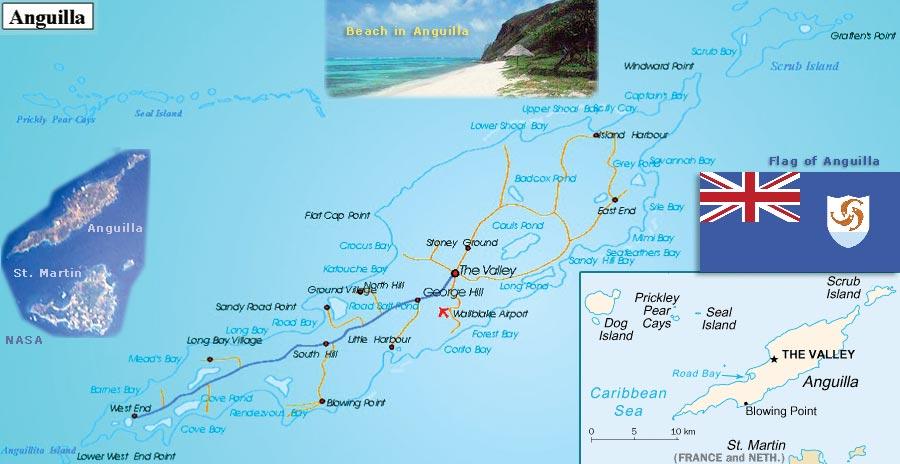 Anguilla, Território Britânico no Caribe