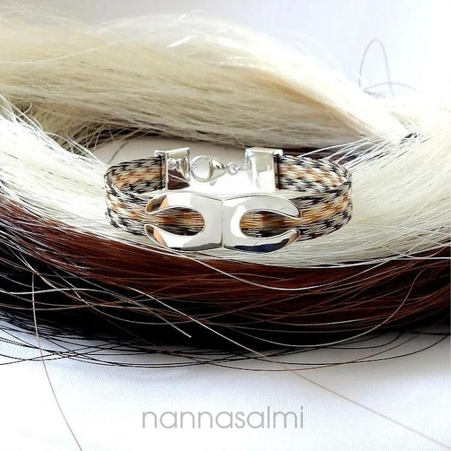 horsehairbracelet by nannasalmi