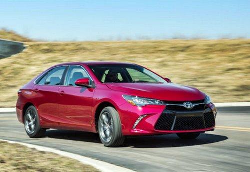 Toyota Camry Hybrid Red Elegant Concept Body 2016
