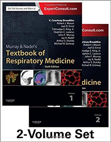 Murray & Nadel Giáo trình Bệnh Hô hấp 6/e, Toàn tập