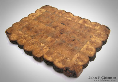 aak branch wood trivet