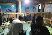 Kampanye Sampai Larut Malam, Calon Bupati Loteng Ahmad Ziadi Nginap di Posko Relawan