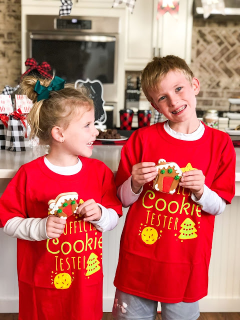 Cute Official Cookie Tester Tees for Kids