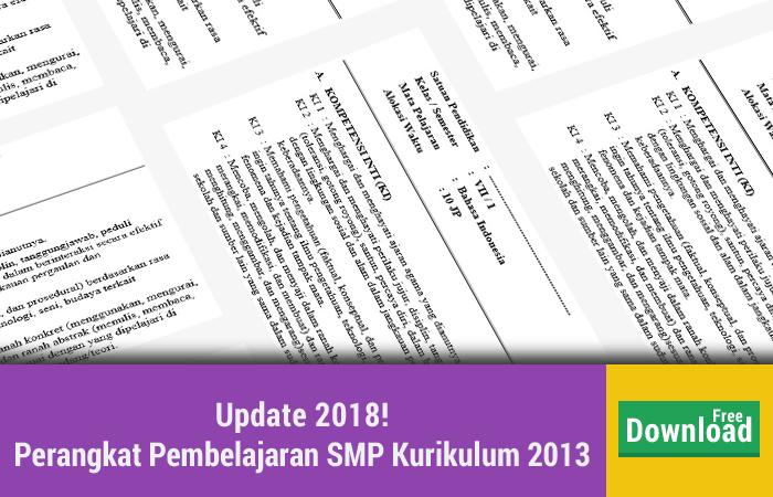 Perangkat Pembelajaran SMP Kurikulum 2013