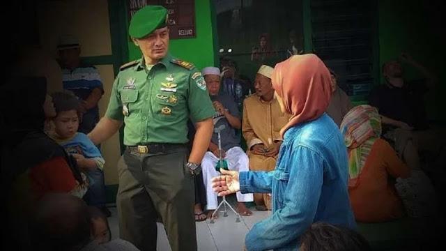 Kapten TNI Tatang Hajar Raja Jin Santet yang 18 Tahun Rasuki Ustazah