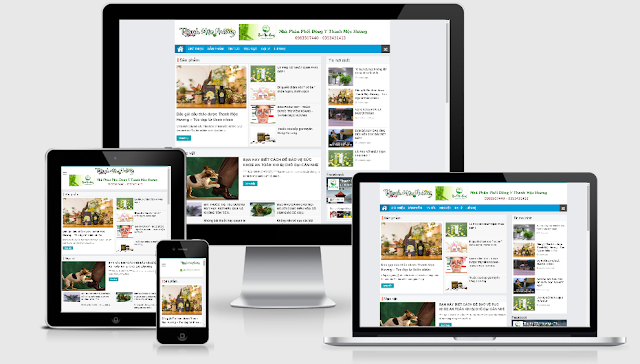 Template Blogspot tin tức miễn phí, chuẩn SEO đẹp nhất 2019