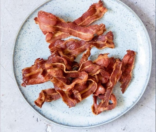 Air Fryer Bacon (Best Bacon Ever!) #keto #lowcarb