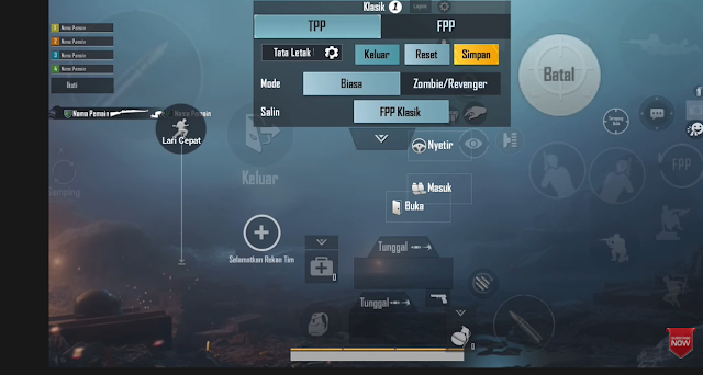 Kode Layout PUBG Mobile New Update