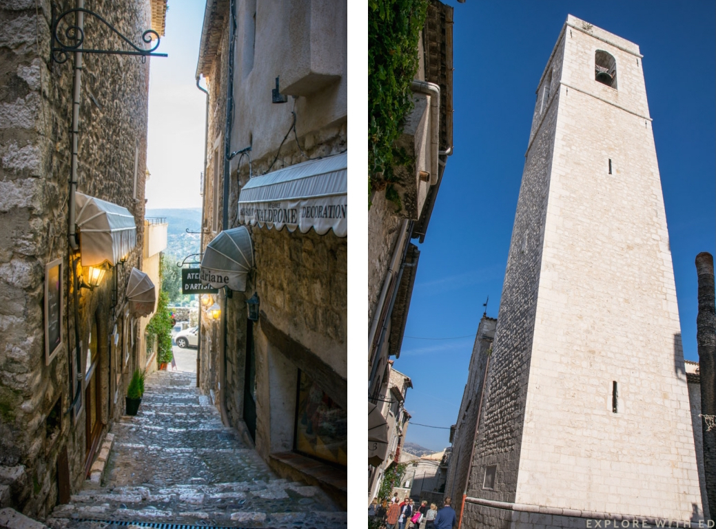 Saint Paul-de-Vence, cobbled streets