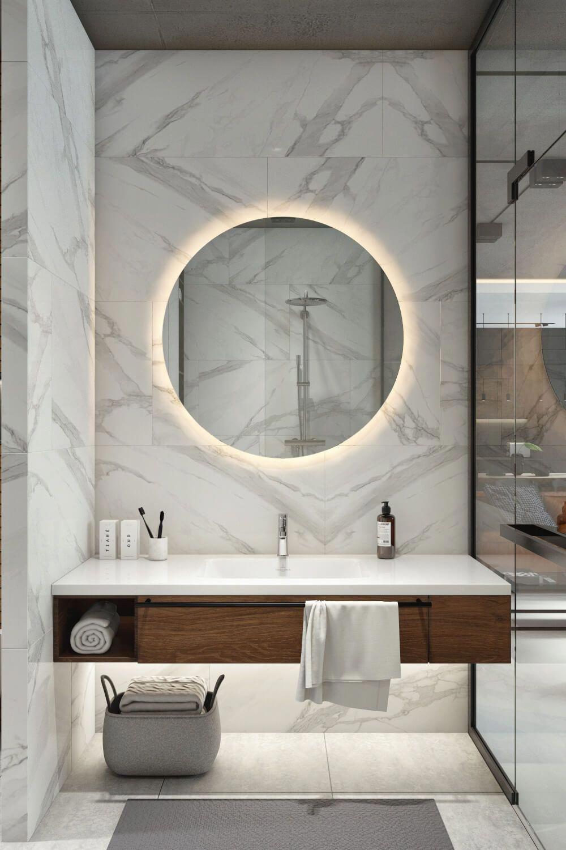 Beautiful Bathroom Mirror Ideas to Shake Up Your Morning Lipstick
