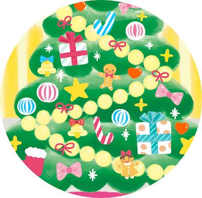 ベビーブック、小学館、アンパンマン、雑誌、杉田香利、イラストレーター、#クリスマスツリー