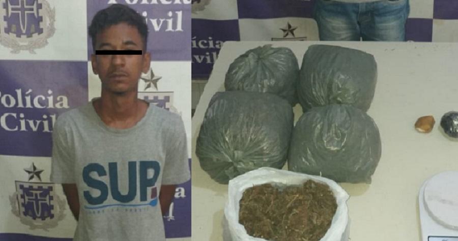 Jovem de 18 anos é preso sob acusação de tráfico de drogas em Juazeiro (BA) - Portal Spy