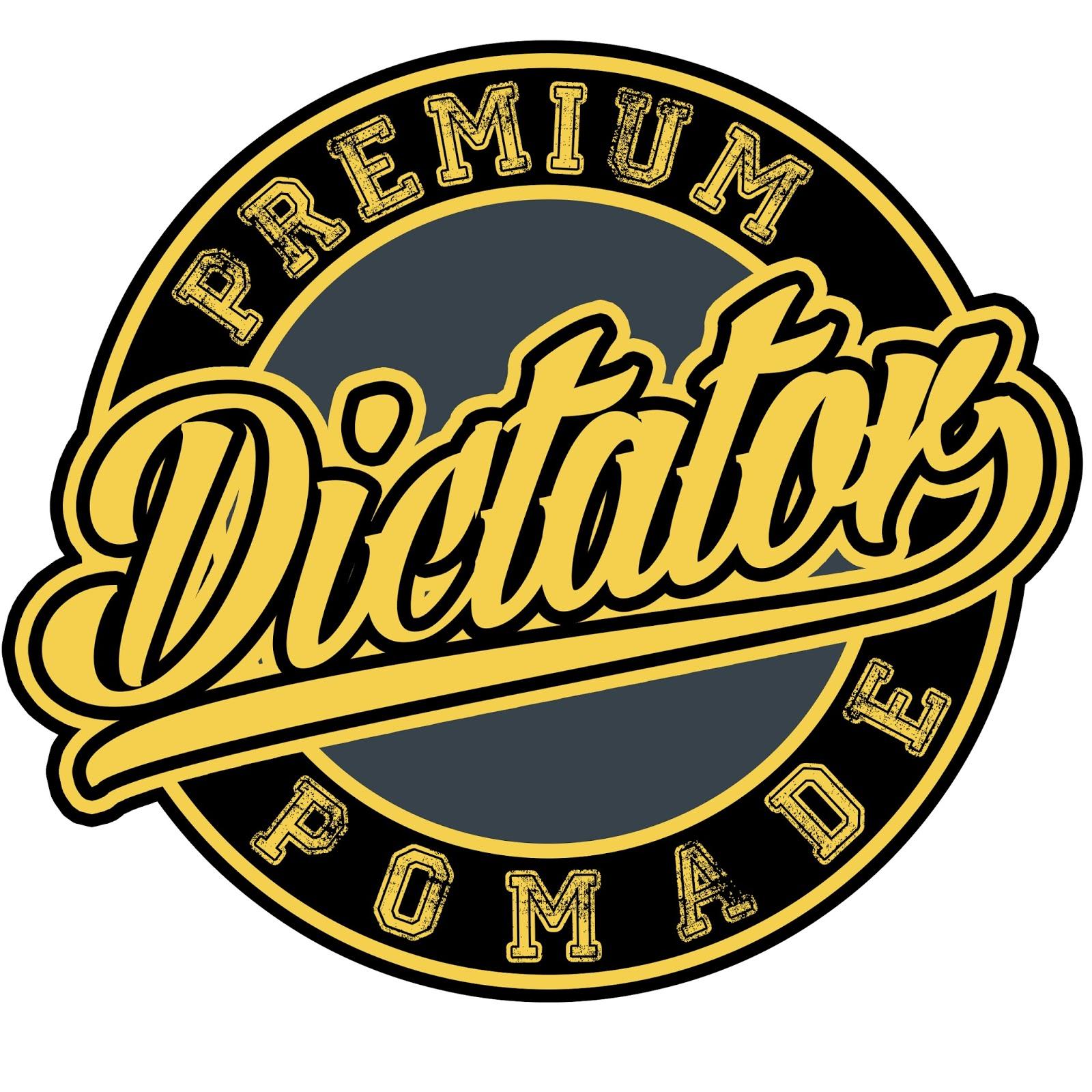 Rozikin04 Desain Logo Pomade Dictator Premium Pomade