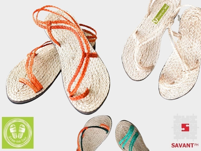 Woven Abaca Summer Strap Sandals (Ladies)