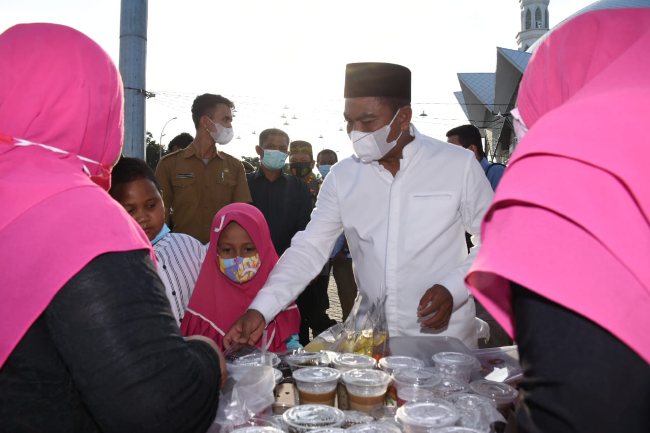 Bupati Sergai Membuka Kampung Ramadhan