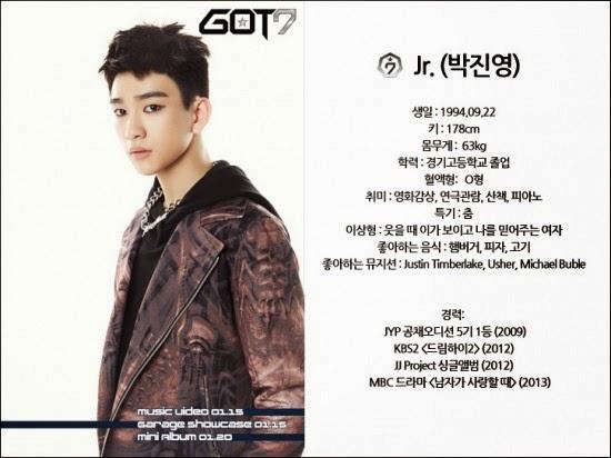 My Kpop Blog: GOT7 PROFILE
