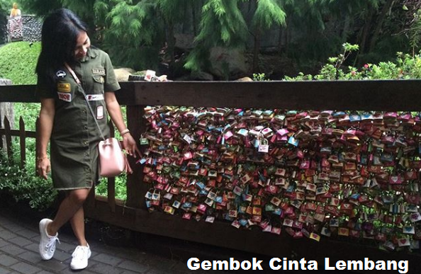 Tempat Wisata Di Bandung gembok cinta lembang