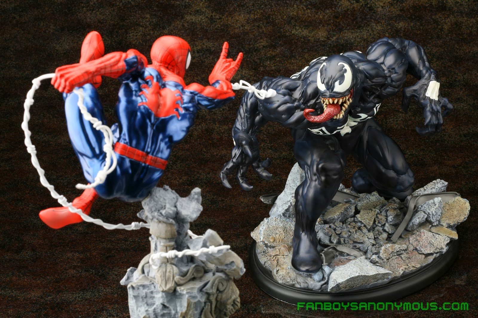 Buy Venom and Spider-Man statues, busts, and toys on Amazon and eBay