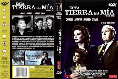 Esta tierra es mía | 1943 | This Land is Mine | Dvd Cover