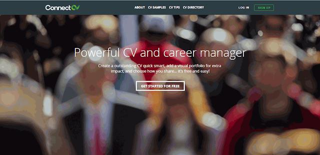 Cara Membuat CV Online dengan ConnectCV