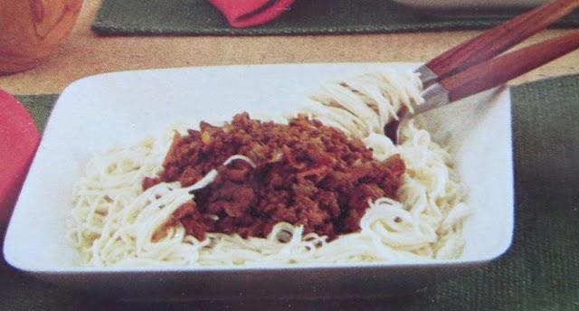 Spagetti med köttfärssås (Bolognese) klassiskt recept
