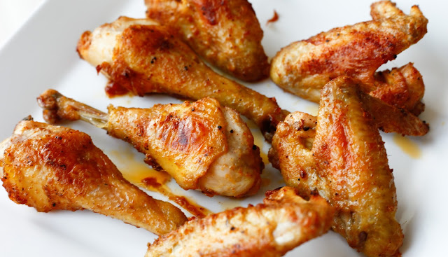 Simple Crispy Roasted Chicken Pieces