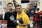 Putra Siregar Pemilik PS Store Pun yang Tersandung Kasus Ponsel Ilegal Give Away