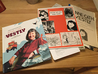 Den nye boken om  Anne-Cath. Vestly, sammen med mine egne brever fra forfatteren.