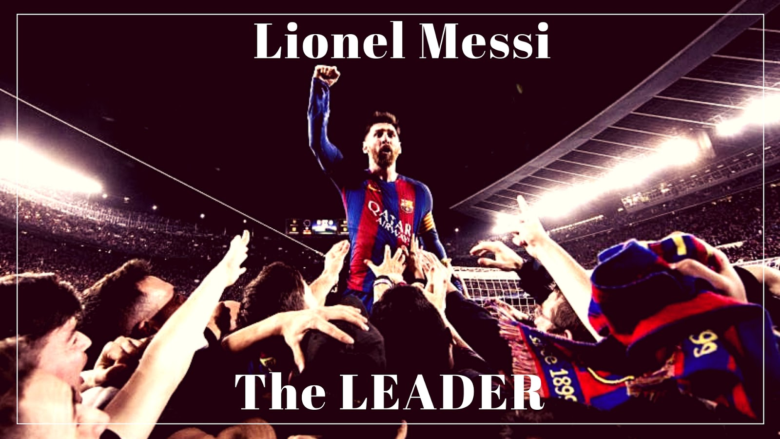 Lionel Messi enjoying leading FC Barcelona