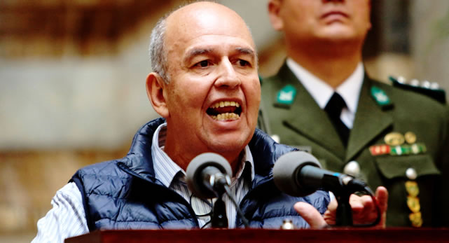 Murillo advierte que no habrá elecciones donde existan conflictos y no haya policías y militares