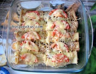 блинчики в итальянском стиле с соусом болоньезе