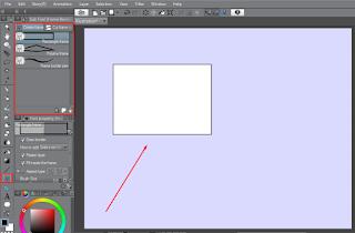 cara membuat bingkai di clip studio paint