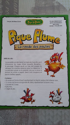 Pique Plume, la ronde des poules de Gigamic !