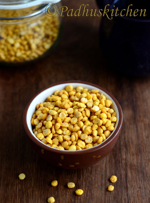 Fried Chana Dal Snack