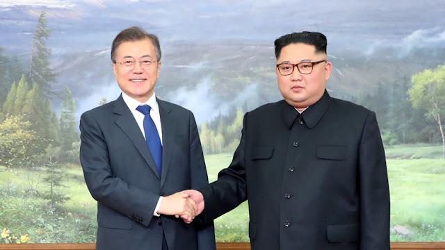 Moon Jae-in se reúne con Kim Jong-un por segunda vez en la zona desmilitarizada entre las dos Coreas