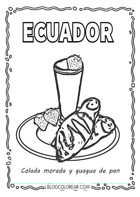 Día de los difuntos en Ecuador
