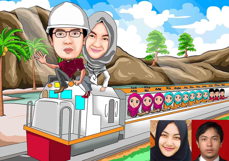 Jasa Karikatur Bikin Karikatur Di Medan Telp Wa
