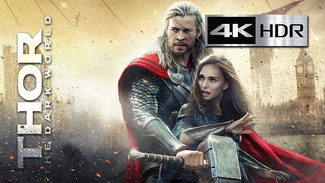 Thor: Un mundo Oscuro (2013) REMUX 4K UHD [HDR] Latino-Castellano-Ingles