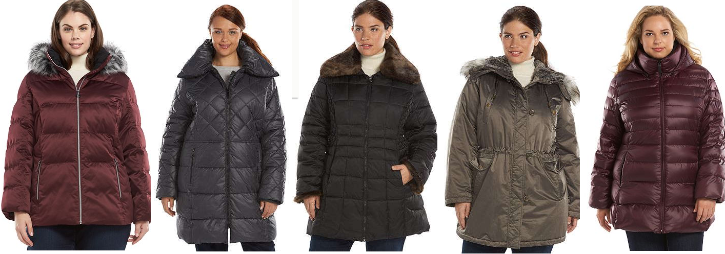 59574036ef4 Women s Plus Size Winter Coat Sale For Kohl s Cardholders + Free Shipping   ZeroXposur Hooded Jacket  21